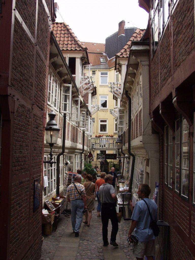 ハンブルクの唯一の路地裏。© Von Robert Breuer - Eigenes Werk, CC BY-SA 3.0, https://commons.wikimedia.org/w/index.php?curid=941783